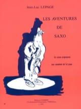 Les Aventures de Saxo Jean-Luc Lepage Partition laflutedepan.com