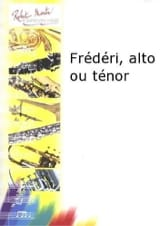 Frédéri Francine Aubin Partition Saxophone - laflutedepan