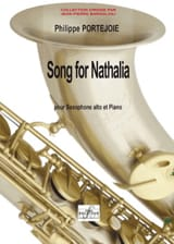 Song For Nathalia Philippe Portejoie Partition laflutedepan