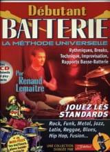 Lemaître Renaud / Rébillard Jean-Jacques - Débutant batterie - Partition - di-arezzo.fr