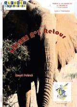 Safari N° 3 Retour René Potrat Partition laflutedepan