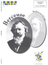 Berceuse BRAHMS Partition Ensemble de percussions - laflutedepan.com