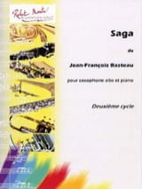 Saga Jean-François Basteau Partition Saxophone - laflutedepan