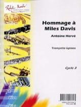 Hommage A Miles Davis Antoine Hervé Partition laflutedepan.com