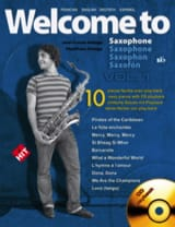 Jean-Louis Delage - Welcome To Saxophone Si Bémol Volume 1 - Partition - di-arezzo.fr