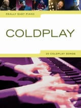 Really easy piano - Coldplay Coldplay Partition laflutedepan.com