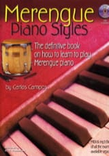 Carlos Campos - Merengue Piano Styles - Partition - di-arezzo.ch