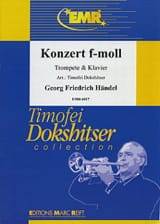 HAENDEL - Konzert In F-Moll - Sheet Music - di-arezzo.co.uk