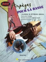 Arpèges Pour la Basse David Keif Partition Guitare - laflutedepan.com