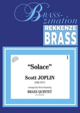 Solace - Scott Joplin - Partition - laflutedepan.com