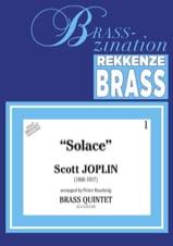 Solace Scott Joplin Partition Ensemble de cuivres - laflutedepan.com