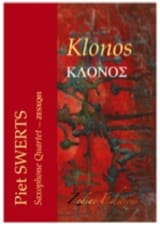 Piet Swerts - Klonos - Partition - di-arezzo.fr