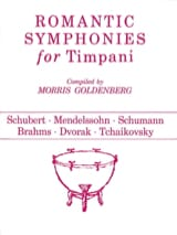 - Romantic Symphonies For Timpani - Partition - di-arezzo.fr