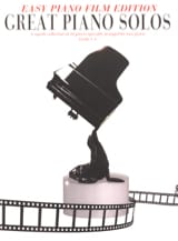 Easy Piano Edition - Great Piano Solos - The Film Book laflutedepan.com