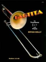 Partita Bryan Kelly Partition Trombone - laflutedepan.com