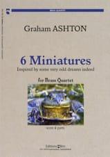 Graham Ashton - 6 Miniatures - Partition - di-arezzo.fr