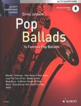 Pop Ballads - Partition - Saxophone - laflutedepan.com