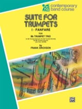 Suite For Trumpets Frank Erickson Partition laflutedepan.com