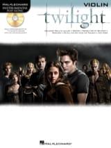 Twilight Partition Violon - laflutedepan.com