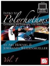 Intro To Polyrythms Volume 1 with Online Vidéo laflutedepan.com