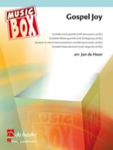 Jan De Haan - Gospel joy - music box - Partition - di-arezzo.fr