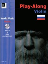 World Music Russia Play-Along Violon Partition laflutedepan.com