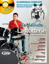 Jean-Philippe Fanfant - Je débute la batterie - Partition - di-arezzo.fr