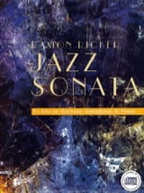 Jazz Sonata Ramon Ricker Partition Saxophone - laflutedepan