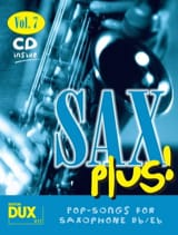 Sax plus! volume 7 Partition Saxophone - laflutedepan.com