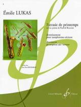 Emile Lukas - Fatrasie de Printemps - Partition - di-arezzo.fr