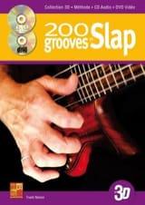 Frank Nelson - 200 Grooves en Slap en 3D - Partition - di-arezzo.fr