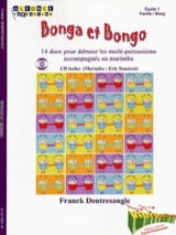 Franck Dentresangle - Bonga et bongo - Partition - di-arezzo.fr