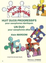 Alain Margoni - Eight Progressive Duos - Sheet Music - di-arezzo.co.uk