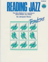 Reading Jazz Jacques Rizzo Partition Trombone - laflutedepan.com