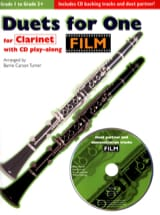Duets For One - Film Partition Clarinette - laflutedepan.com