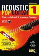 Acoustic pop guitar volume 1 Michael Langer Partition laflutedepan.com