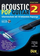 Acoustic pop guitar volume 2 Michael Langer Partition laflutedepan.com
