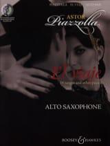 El viaje Astor Piazzolla Partition Saxophone - laflutedepan.com