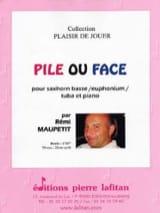 Pile ou Face Rémi Maupetit Partition Tuba - laflutedepan.com