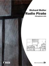 Radio Pirate Richard Muller Partition Vibraphone - laflutedepan.com