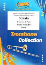 Sonata. Trombone Ténor Daniel Schnyder Partition laflutedepan