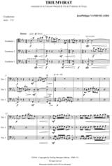 Jean-Philippe Vanbeselaere - Triumvirate - Sheet Music - di-arezzo.com