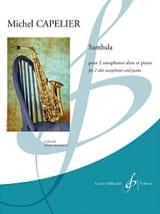 Sambala Michel Capelier Partition Saxophone - laflutedepan.com