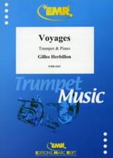 Voyages Gilles Herbillon Partition Trompette - laflutedepan.com