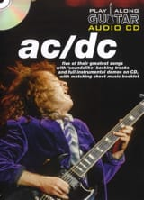 AC-DC - Play Along Guitar Audio Cd - Partition - di-arezzo.fr
