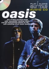 Oasis - Play Along Guitar Audio CD - Partition - di-arezzo.fr