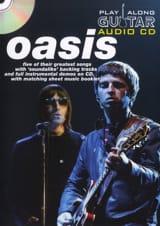 Play Along Guitar Audio CD Oasis Partition laflutedepan.com