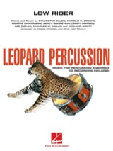 - Low Rider - Leopard Percussion - Partition - di-arezzo.fr