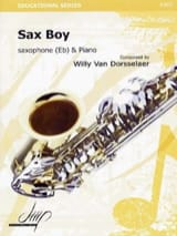 Sax boy Dorsselaer Willy Van Partition Saxophone - laflutedepan