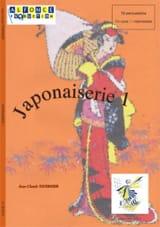 Japonaiserie 1 Jean-Claude Tavernier Partition laflutedepan.com